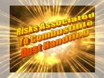 Risks Associated To Combustible Dust Handling