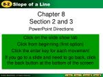 Chapter 8 Section 2 and 3