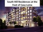 South Hill Residences at the Foot of Casa Loma