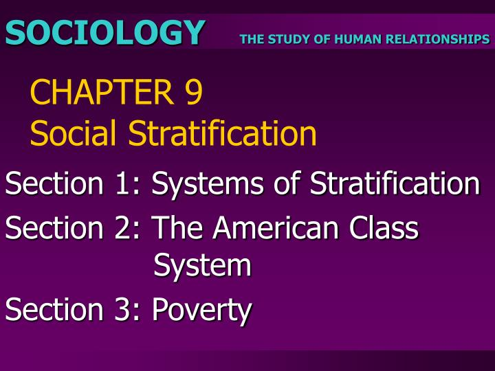 chapter 9 social stratification n.
