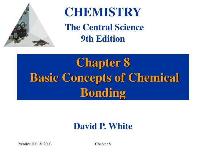 chapter 8 basic concepts of chemical bonding n.