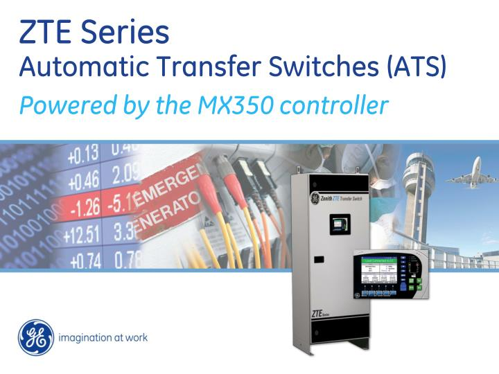 zte series automatic transfer switches ats n.