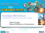 Estrategia IBM Software