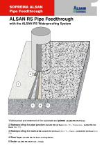 1  Mechanical pre-treatment of the substrate and  primer ( ALSAN RS 276 Primer)