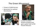 The Green Movement