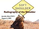 Radiography of the Shoulder