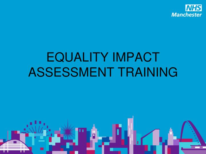 equality impact assessment training n.