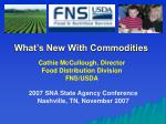 What's New With Commodities