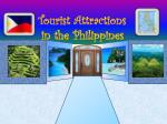 Tourist Attractions in the Philippines