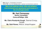 Forum 22: Managing water in upstream and downstream operations