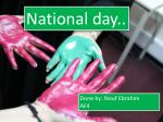 National day..