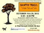 HAUNTED TRAILS: Twilight Tails and Trails