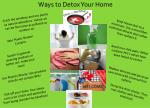 Ways to Detox Your Home