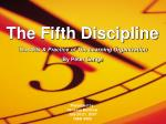 The Fifth Discipline The Arts & Practice of The Learning Organization By Peter Senge