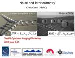 Noise and Interferometry