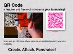 QR Code a fast , fun and free tool to increase your fundraising!