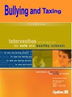 Bullying and Taxing