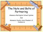 The Nuts and Bolts of Partnering