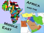 Africa and the