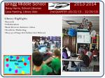 Library Highlights Research Collaboration Book Reviews Animoto videos Overdrive Marketing