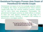 Gestational Surrogacy Process in India