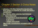 Chapter 2 Section 3 Civics Notes