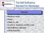 The Self Sufficiency Standard for Mississippi