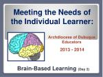 Brain-Based Learning (Day 2)