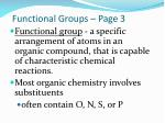 Functional Groups – Page 3