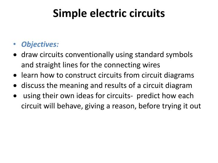 Amazing Ppt Simple Electric Circuits Powerpoint Presentation Id 3068325 Wiring Cloud Hisonuggs Outletorg