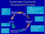 Sustainable Community Development Process