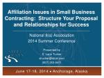 National 8(a) Association 2014 Summer Conference Presented by S. Lane Tucker sltucker@stoel