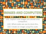 IMAGES AND COMPUTERS