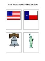 STATE AND NATIONAL SYMBOLS CARDS