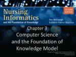 Chapter 3 Computer Science and the Foundation of Knowledge Model