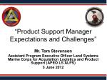 """Product Support Manager  Expectations and Challenges"""