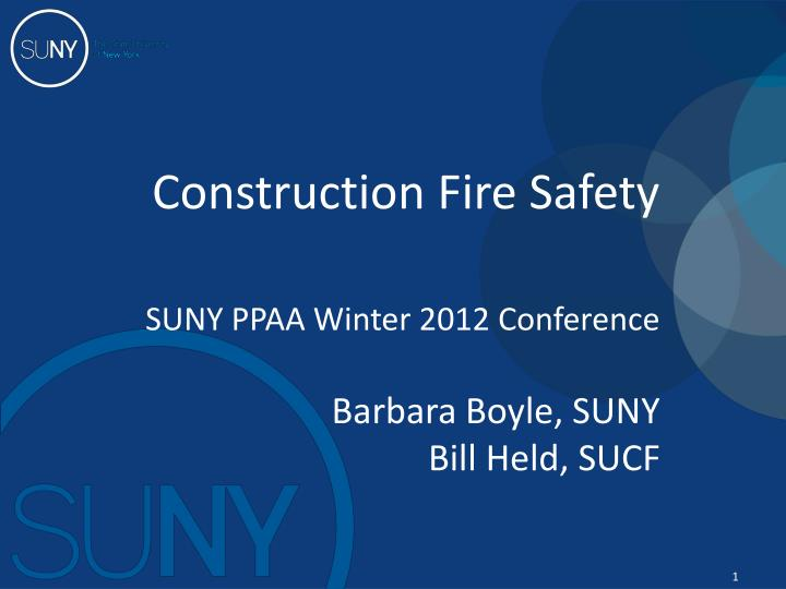 construction fire safety n.