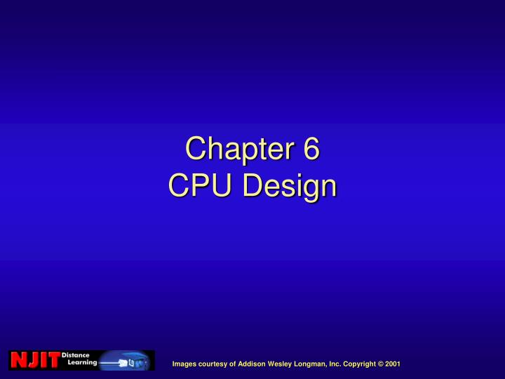 chapter 6 cpu design n.