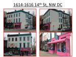 1614-1616 14 th St, NW DC