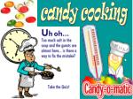 candy cooking