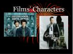 Films' Characters