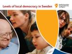 The Swedish Association of Local Authorities and Regions (SALAR)