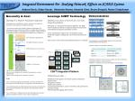 Integrated Environment For Studying Network Effects on SCADA Systems