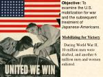 · During World War II, 10 million men were drafted, and another 6 million men and women enlisted.