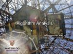 Algorithm Analysis