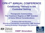 CPN 4 TH  ANNUAL CONFERENCE