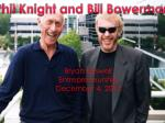 Phil Knight and Bill Bowerman