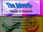 Kinds of Adverb