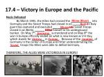 17.4 – Victory in Europe and the Pacific