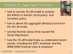 Chapter 11: Aggregate Demand